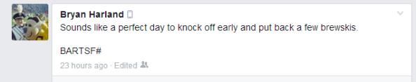 Bryan facebook post
