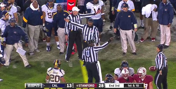 pac12 refs morons